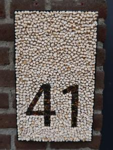 Mozaïek huisnummer